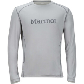 Marmot Windridge Graphic Longsleeve Herr bright steel/grey storm